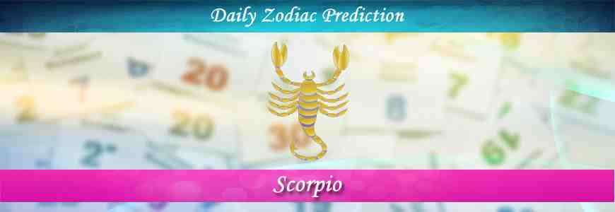 scorpio daily horoscope today