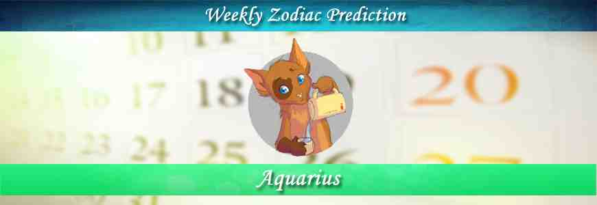 aquarius weekly horoscope forecast