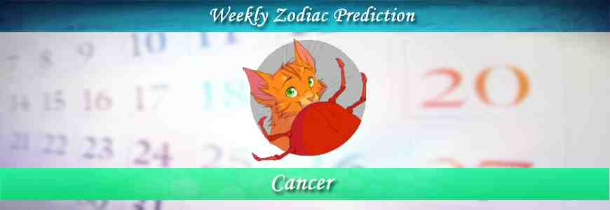 Cancer Weekly Horoscope Forecast -FreeKundli com