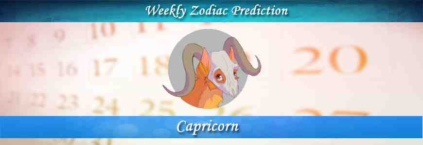 Capricorn Weekly Horoscope Forecast -FreeKundli com