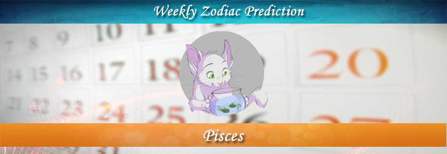 pisces weekly horoscope forecast